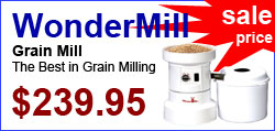 WonderMill Grain Mill on sale