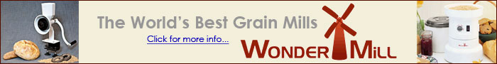 Grain Mills by Wondermill, The World's Best Grain Mills