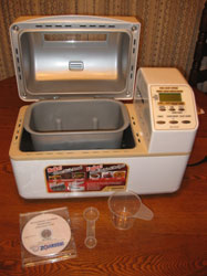 Zojirushi BB-CEC20 Bread Machine / Bread Maker