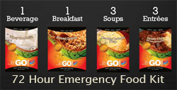 GOFoods 72 Hour Emergency Food Kit