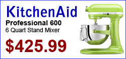 KitchenAid Professional 600 6-Quart Stand Mixers